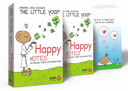 NEW - Happy Notes from The Little Yogi in the USA!