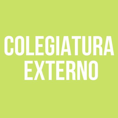 COLEGIATURA EXTERNO
