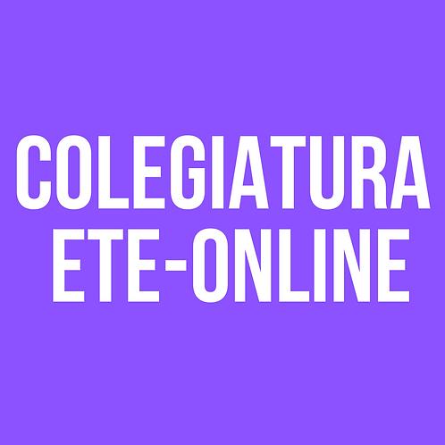 COLEGIATURA ETE-ONLINE