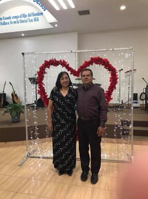 Carlos y Rebeca Luna