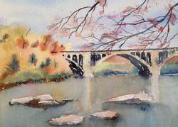Key Bridge Fall