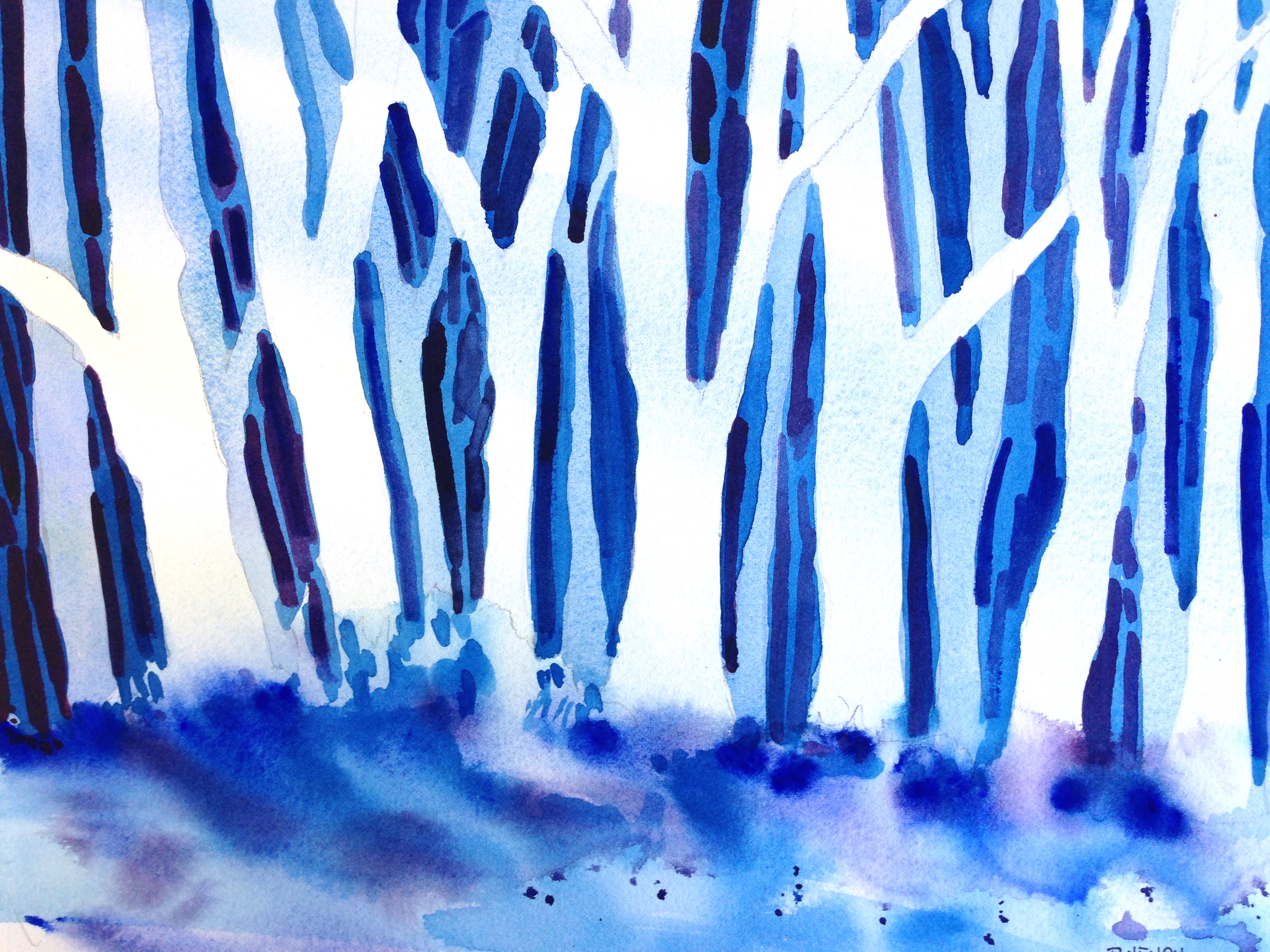 Winter woods ~ For Sale