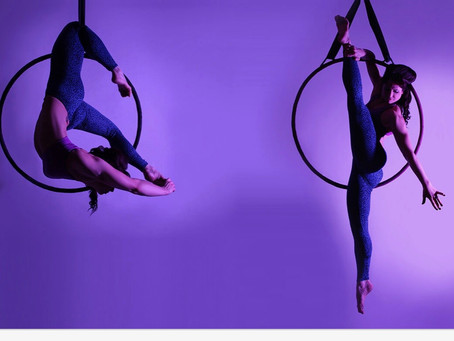Book your place on this months Aerial Classes