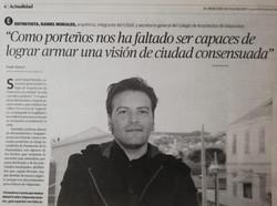 Entrevista Mercurio de Valparaíso, 2015