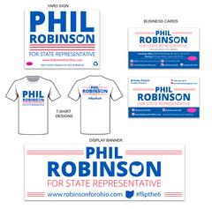 Phil Robinson Branding Identity