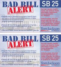 Bad Bill Alert