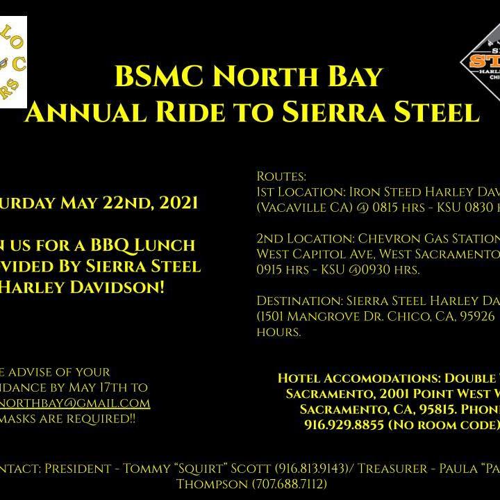 Annual Ride to Sierra Steel