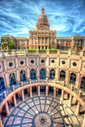 Texas State Capitol Building in Austin,