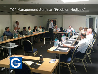 """Gen-Plus veranstaltet Top Management Seminar """"Precision Medicine"""""""