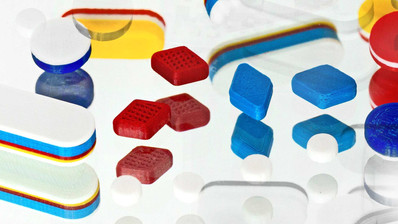 3D-gedruckte Medikamente in Kleinstchargen