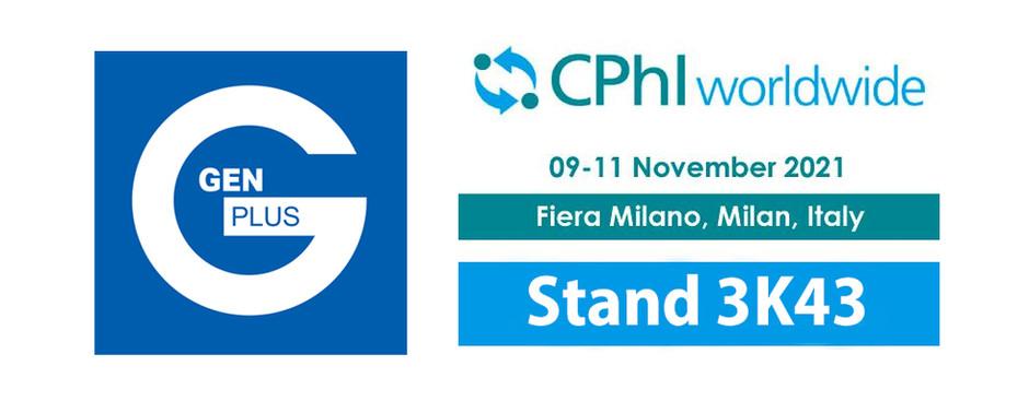 Gen-Plus auf der CPhI in Mailand
