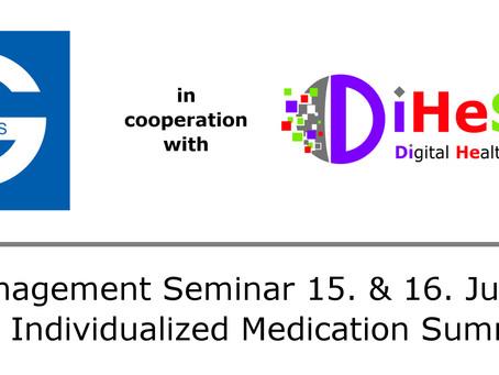 TOP Management Seminar 15. & 16. June 2020                    4th Individualized Medication Summit