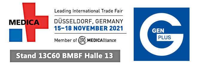 Besuchen Sie uns auf der weltweit größten Medizinmesse MEDICA in Düsseldorf