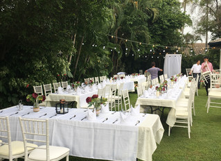 Townsville weddings at home