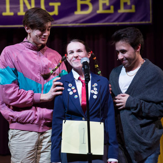 Spelling Bee at Northwestern University, photo by Justin Barbin Photography