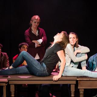 The Twelve at the Edinburgh Festival Fringe, photo by Justin Barbin Photography
