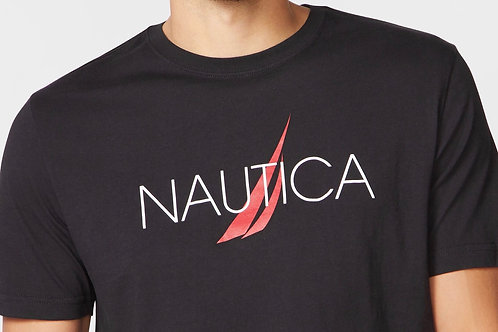 Black n Red Nautica Tee