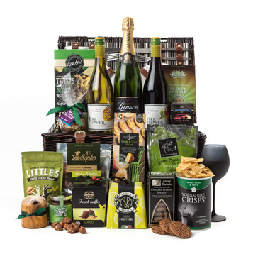 luxury gift hamper product shot