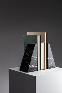 marble bookends product shot