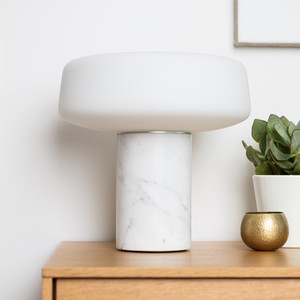 Terence Woodgate - Marble table lights