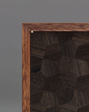 close up of a bespoke cabinet, by Sussex product photographer Simon Eldon