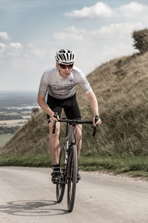 Enigma lifestyle shot of cyclist
