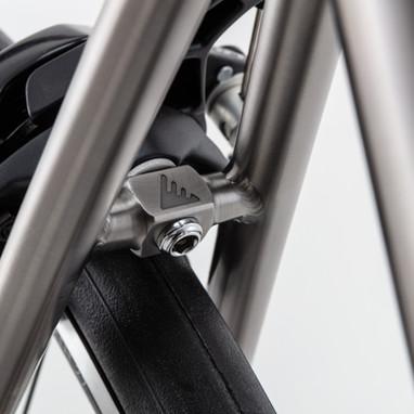 Bike Details titanium frame