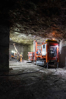 Industrial photography at Albion Stone, Portland, for the Crown Estate, by UK commercial photographer Simon Eldon