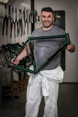 Enigma bikes paint shop