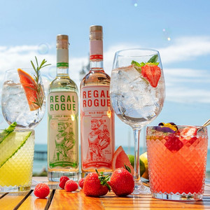 lifestyle shot for regal rogue vermouth