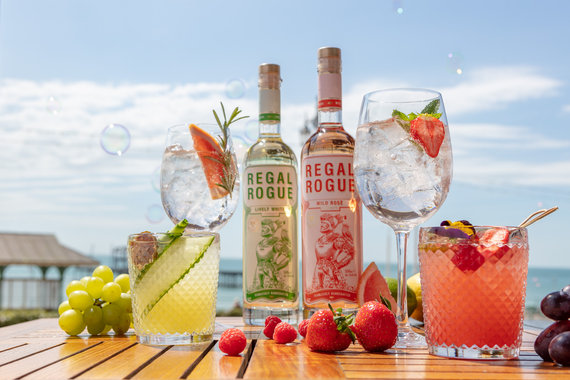 lifestyle advertising drinks image regal rogue