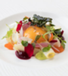 Food photography for the Michelin starred Gravetye Manor in Sussex, by food photographer Simon Eldon