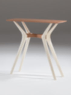 Furniture photography of a bespoke table, by product photographer Simon Eldon