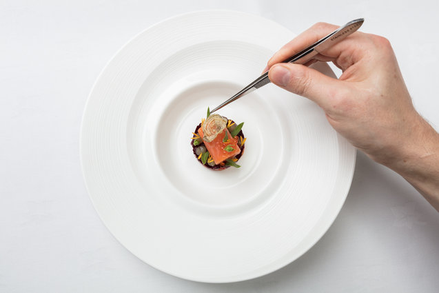 michelin star food photography