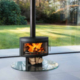 Fireplace photo for Future Fires, by commerical photographer Simon Eldon