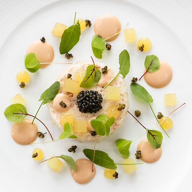 Food photography for the Michelin starred restaurant Gravetye Manor, by UK food photographer Simon Eldon