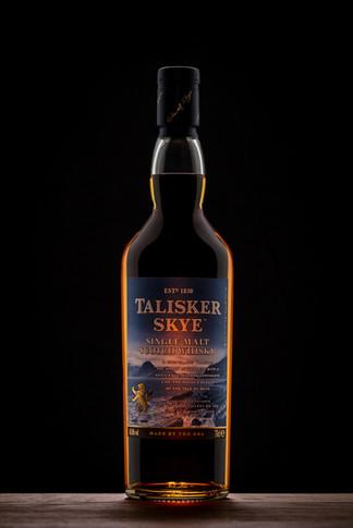 whisky bottle product shot