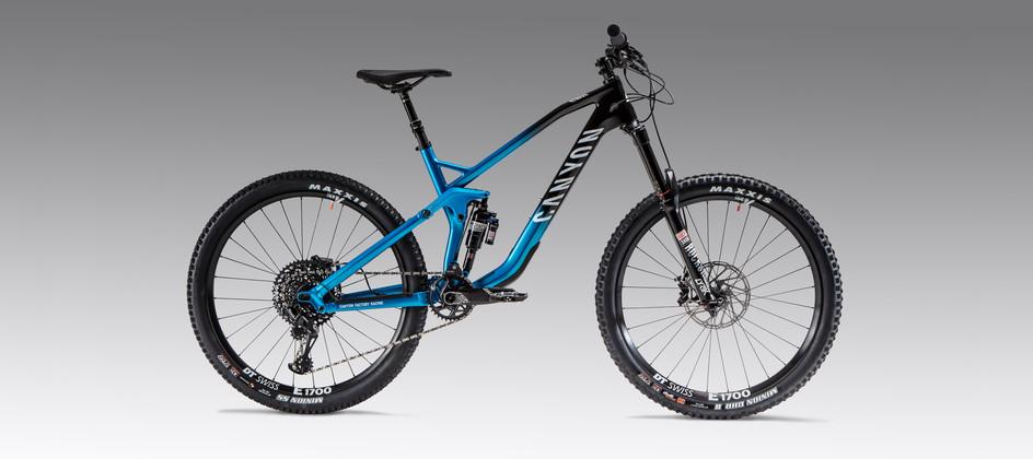 Canyon Strive mountain bike