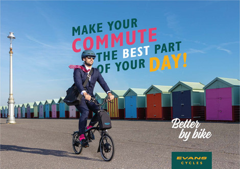 Evans Cycles campaign advertising