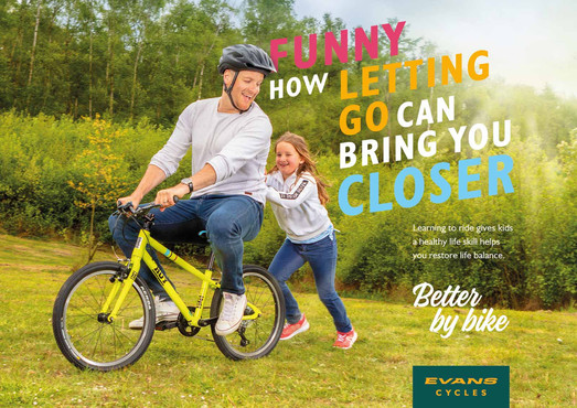 Evans Cycles advertising campaign
