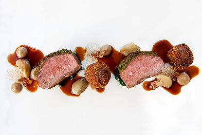 Food photography for the Michelin starred Gravetye Manor, by Surrey food photographer Simon Eldon
