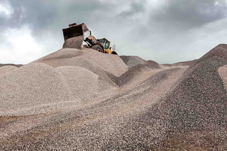 Industrial photography of a quarry for the Crown Estate, by UK commercial photographer Simon Eldon