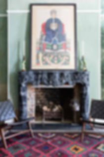 Interior photography of the living room for George Clarke - Old House New Home TV series, by commercial photographer Simon Eldon