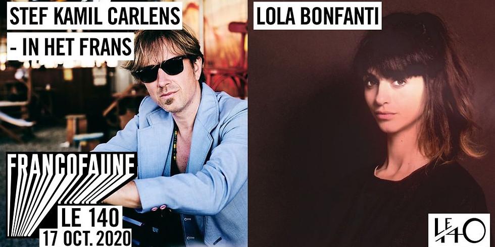 Lola Bonfanti Solo + Stef Kamil Carlens