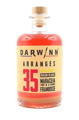 N°35. MARABERRY.  Framboise / Maracuja (passion)