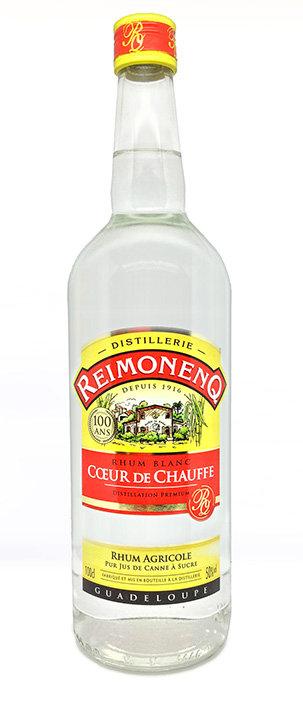 Rhum Blanc Agricole Reimonenq Cœur de Chauffe 50°