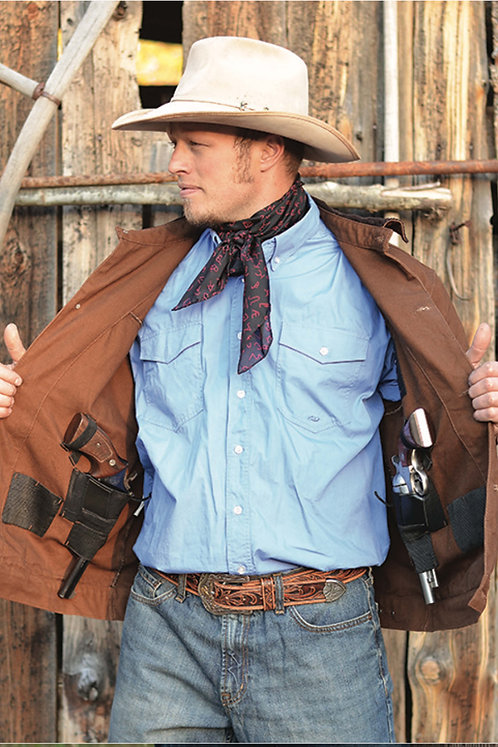 Chisum Concealed Carry Canvas Jacket