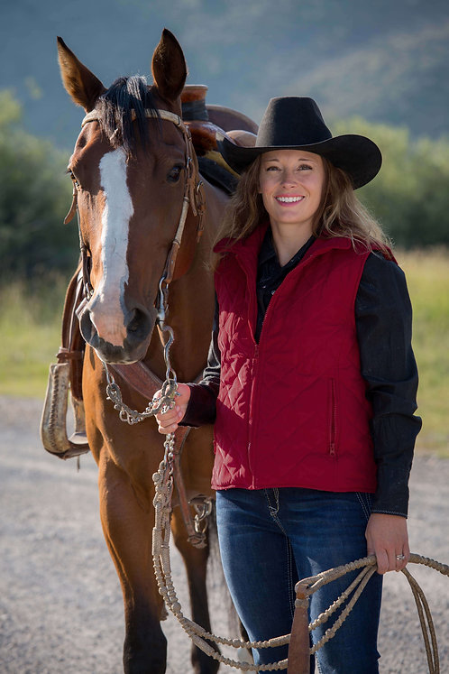 Womens Savannah Quilted Vest