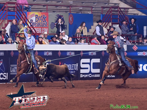 Clay Smith Takes the Round 1 Win at Cinch Timed Event