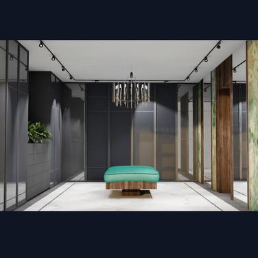 гардеробная комната дизайн